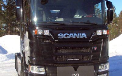 Nytt plogfäste för nya Scania